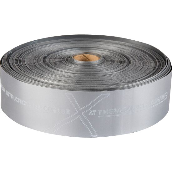 Thera-Band® CLX Band, 22 m Rolle Silber, super stark