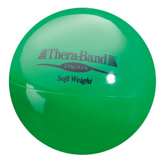 Thera-Band® Weighted Ball Green, 2 kg