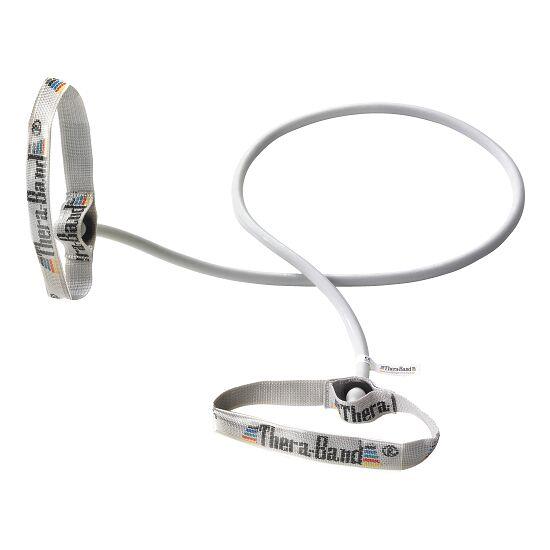 TheraBand™ Bodytrainer Tubing 1,4 m. med håndtag Sølv, ultra stærk