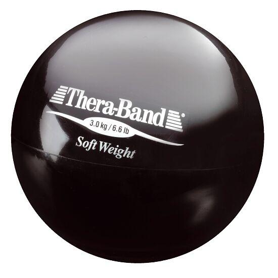 TheraBand™ Gewichtsball Schwarz, 3 kg