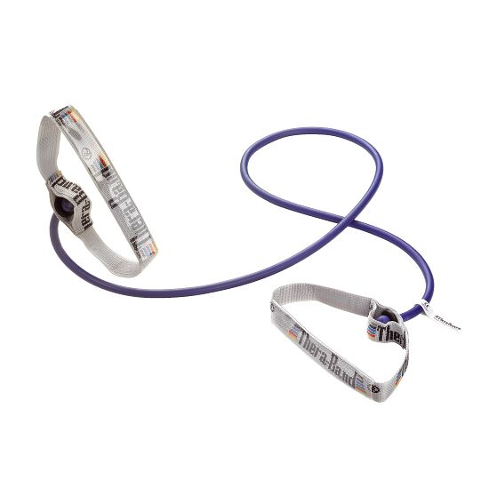 TheraBand Bodytrainer Resistance Tube, 1.4 m with Handles Blue, extra-high