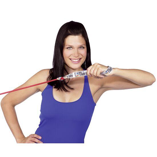 TheraBand Bodytrainer Tubing 1,4 m. med håndtag Rød, mellem