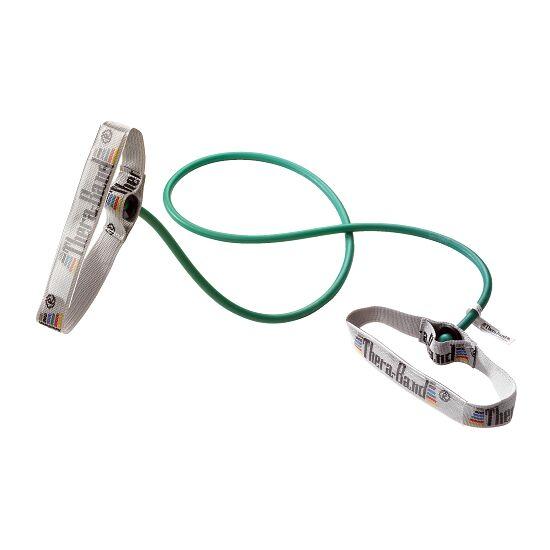 TheraBand Bodytrainer Tubing 1,4 m. med håndtag Grøn, stærk