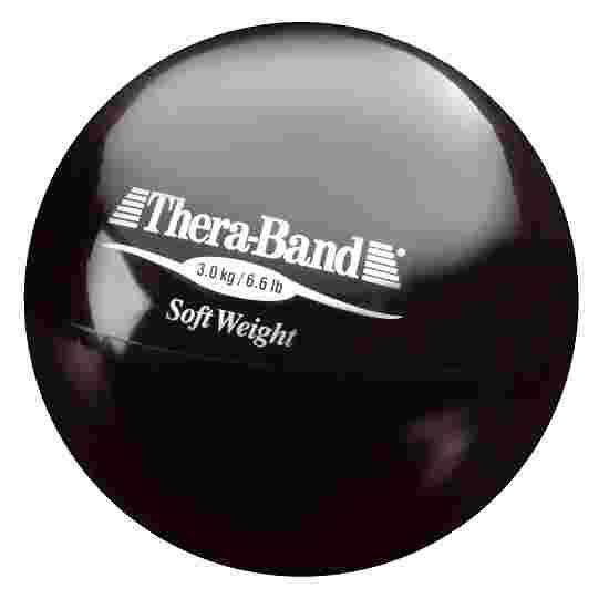 """TheraBand Gewichtsball """"Soft Weight"""" 3 kg, Schwarz"""