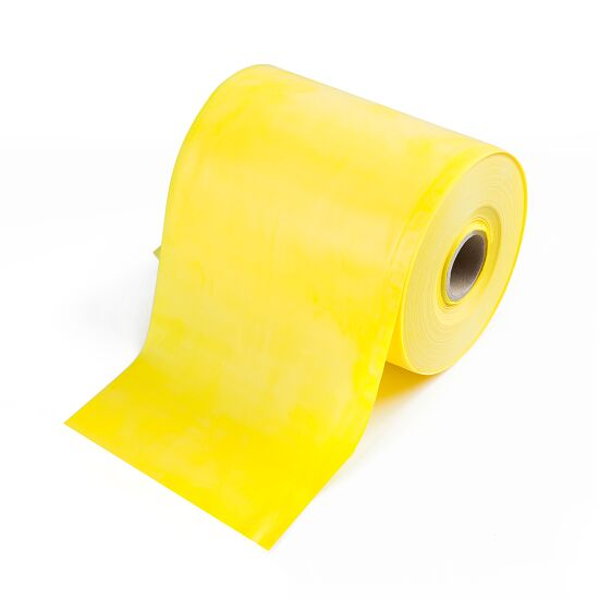 TheraBand Rolle Übungsband in 45,5 m Gelb, leicht