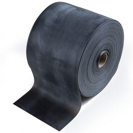 TheraBand Rolle Übungsband in 45,5 m Schwarz, besonders stark