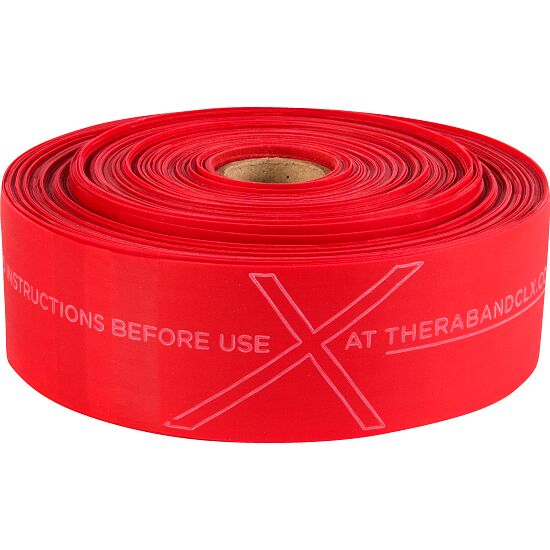 TheraBand®CLX™ Band, 22 m Rolle Rot, mittel