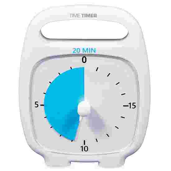 "Time Timer ""Plus"" 20 minutes, White"