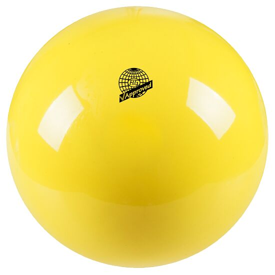 "Togu® ""420"" High-Gloss FIG-Certified Competition Gymnastics Ball Yellow"