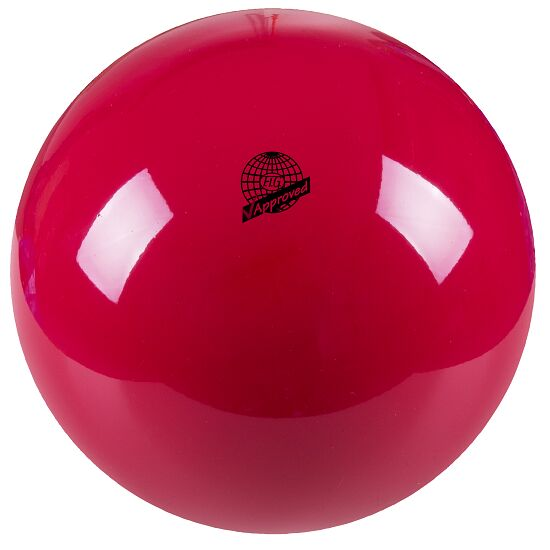 """Togu® """"420"""" High-Gloss FIG-Certified Competition Gymnastics Ball Red"""