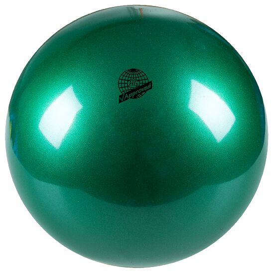"""Togu® """"420"""" High-Gloss FIG-Certified Competition Gymnastics Ball Pearl green"""