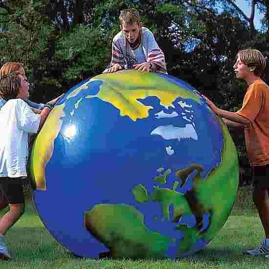 Togu Jordkloden med  Kontinentaftryk ø 100 cm, 3,4 kg