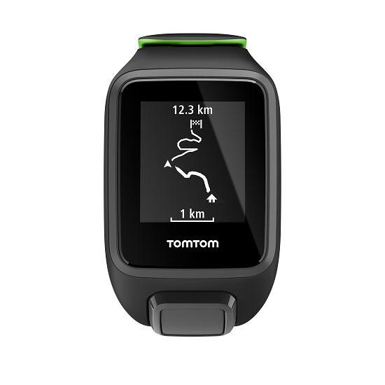 """TomTom Sportuhr Runner 3 """"Cardio + Music"""" Gr. S, Schwarz/Grün"""