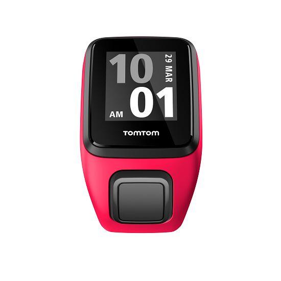 """TomTom Sportuhr Runner 3 """"Cardio"""" Größe S, Pink-Orange"""