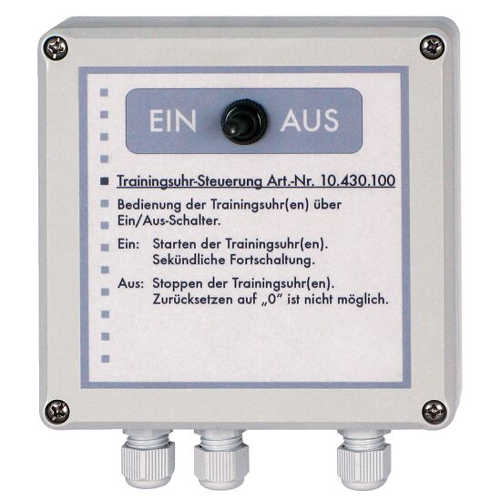 Training Clock with Crossed Second Hands Battery operated, 1.5V