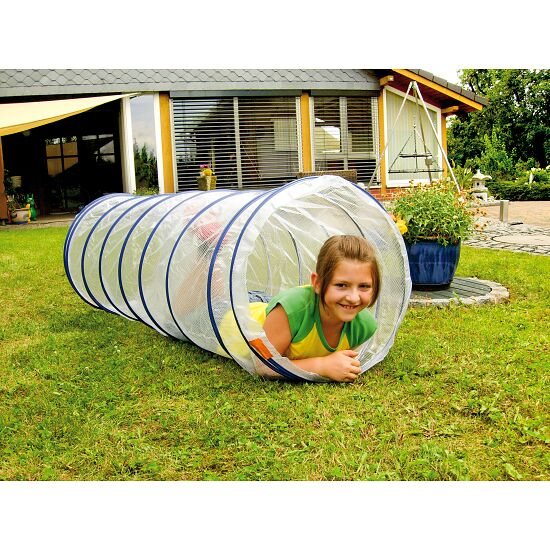 """Transparent"" Spiral Play Tunnel"