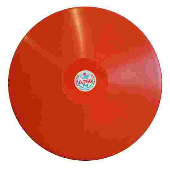 Trial Discus 0.75 kg, red
