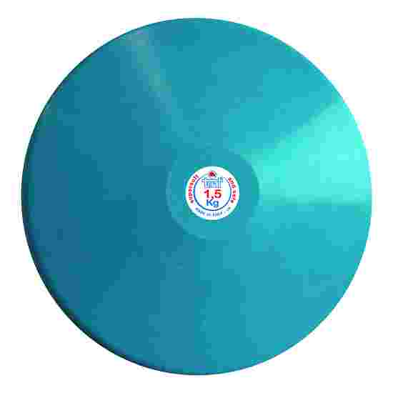 Trial Discus 1.5 kg, light blue (men)