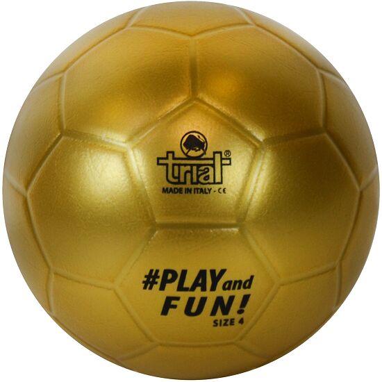 "Trial Fußball ""Gold Soccer"" Größe 4"