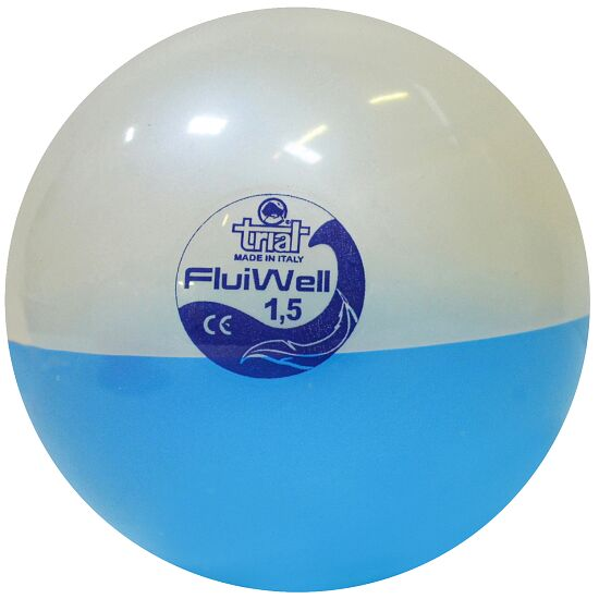 "Trial Medizinball  ""Fluiwell"" 1,5 kg, ø 17,5 cm"