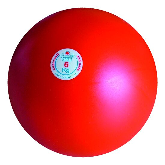 Trial® Stoßkugel 6 kg, Rot