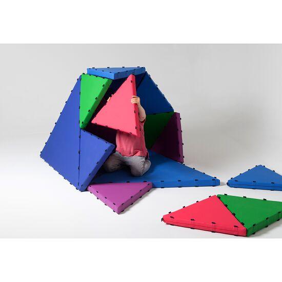 Tukluk® Mattenbausatz Kleine Dreiecke, L: 50 cm, Home-Version