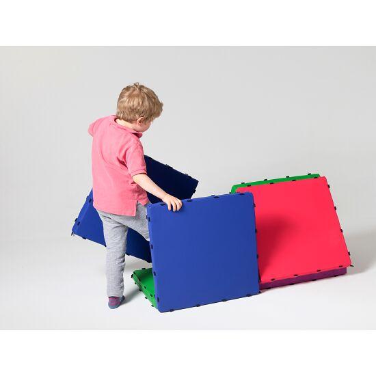 Tukluk® Mattenbausatz Kleine Quadrate, 50x50 cm, Home-Version