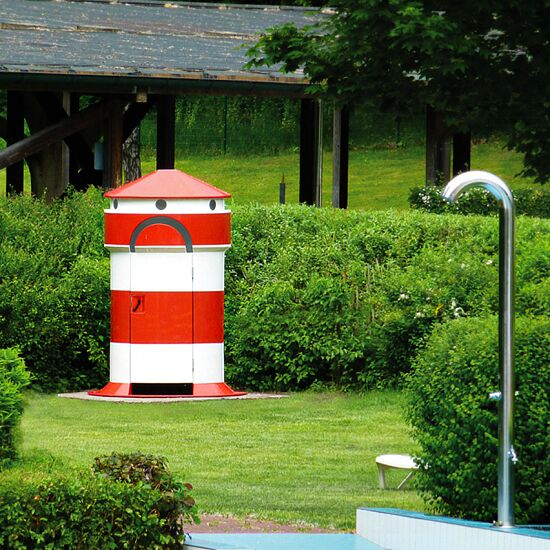 "Umkleidekabine ""Leuchtturm"""