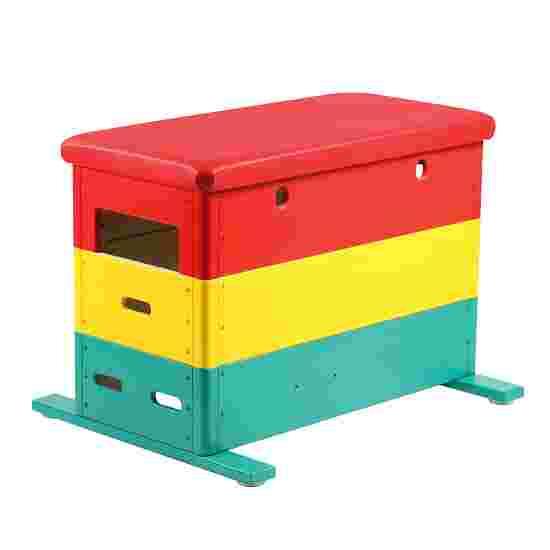 """Vario"" Mini 3-Part Multicoloured Vaulting Box Without castors"