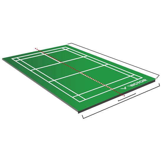 Victor® Badminton Court mobil 2-teilig