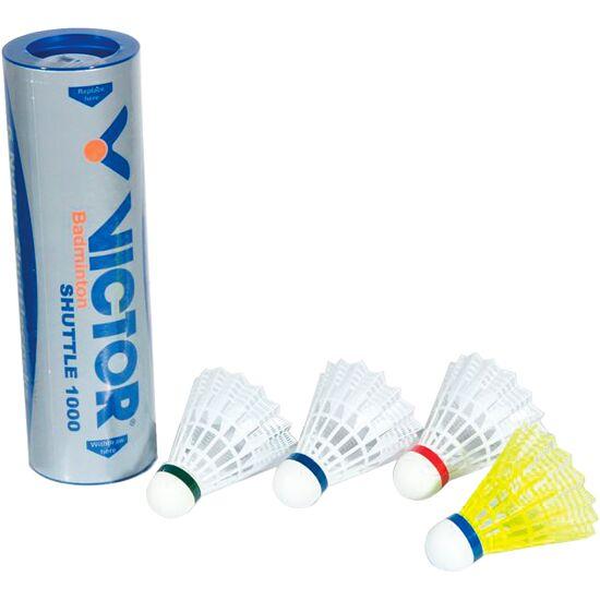 """Victor® """"Shuttle 1000"""" Badminton Shuttles Red, fast, white"""
