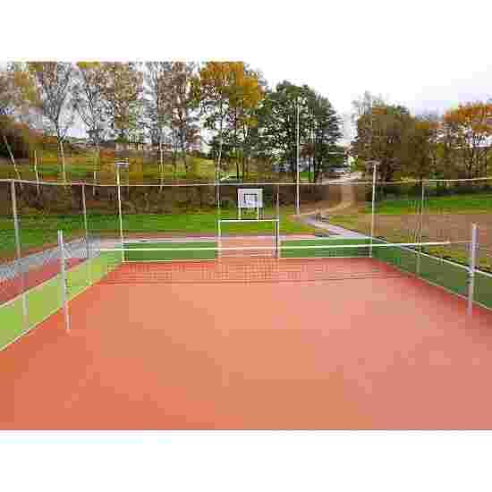 Volleyball-Anlage für Soccer-Courts Für Courts über 10 m Breite