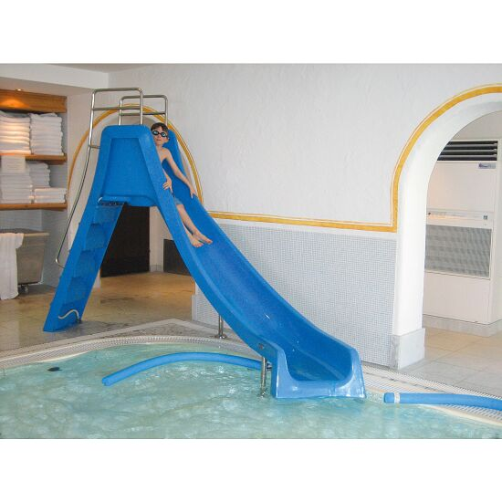 Wasser-Bogenrutsche Kompakt Blau