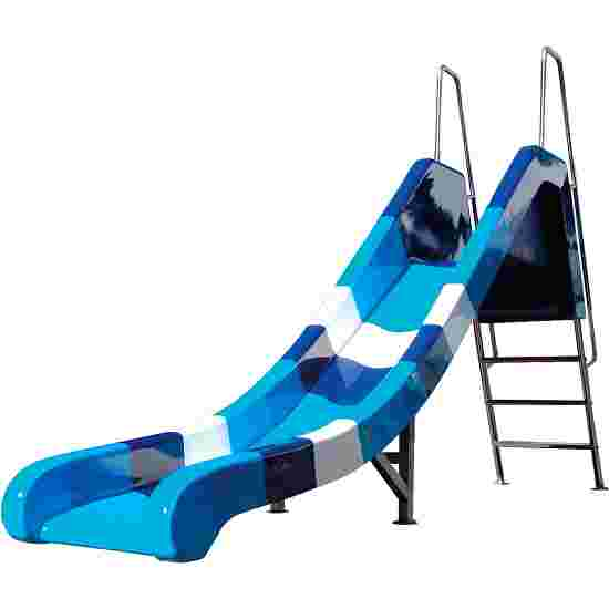 Water Slide Blue-Wave