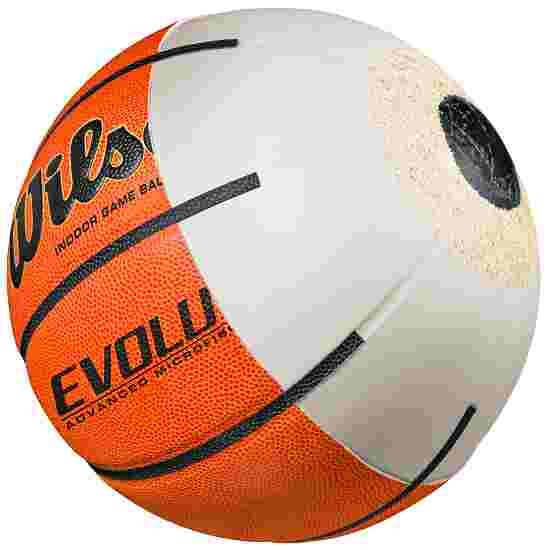 "Wilson ""Evolution"" Basketball Orange/black, Size 7"