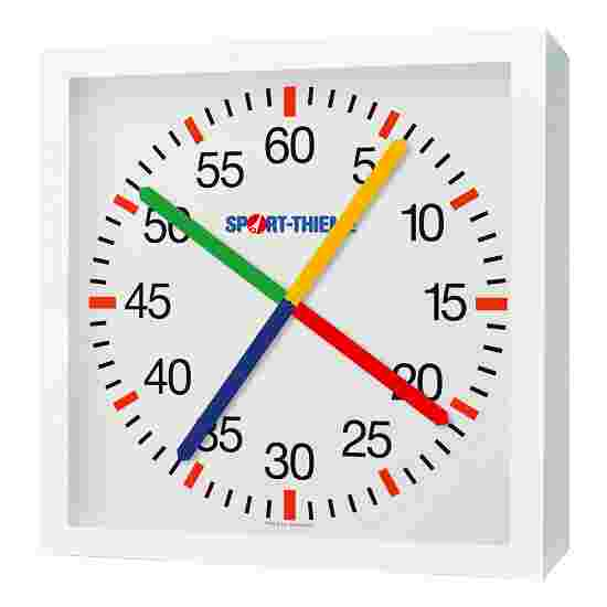 with Crossed Second Hands Training Clock Mains-operated, 230V