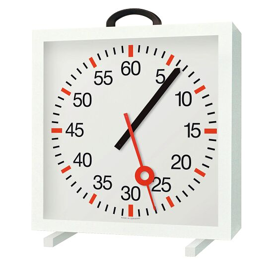 with Minute and Second Hands Training Clock Battery-operated 2x 1.5 V, batteries included