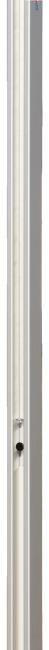 Sport-Thieme® Volleyball-Pfosten 80x80 mm Mit Flaschenzugsystem