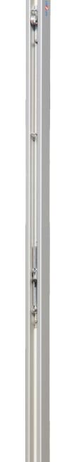 Sport-Thieme® Volleyballpfosten 80x80 mm DVV 1 Mit Flaschenzugsystem