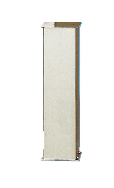 Bodenhülse für Pfosten 80x80 mm oder ø 83 mm Für Pfosten 80x80 mm