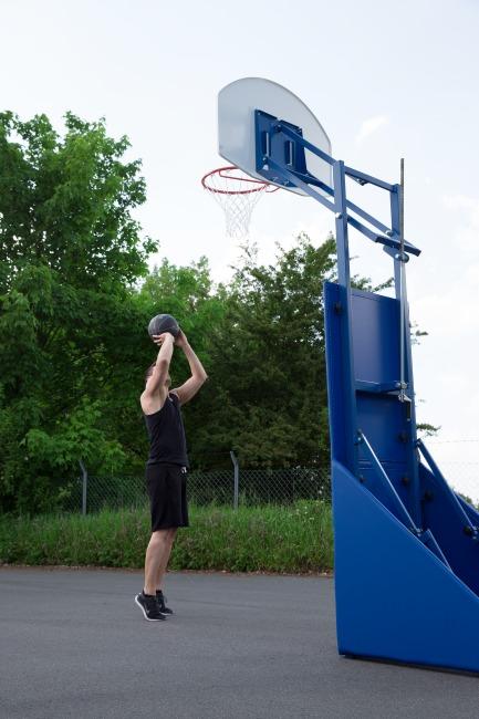 "Sport-Thieme® Street-Basketballanlage ""Vario"" Streetbasketball-Zielbrett 110x73 cm"