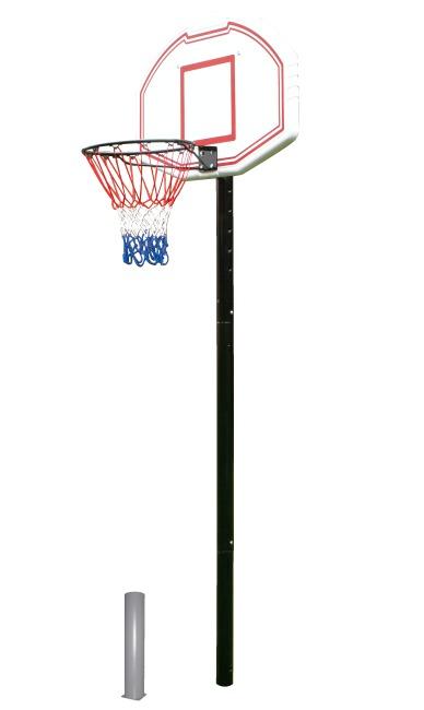 "Basketballständer ""San Antonio"" in Bodenhülse"