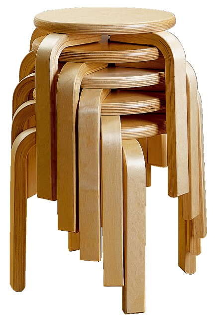 Gymnastikhocker classic ab 20 je st ck 36 95 for Holzhocker stapelbar