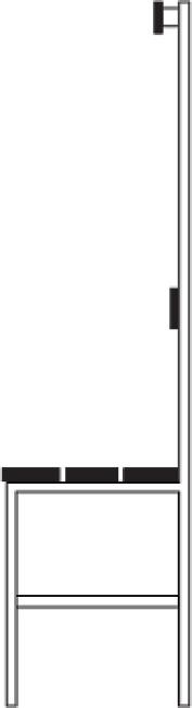 Sport-Thieme® Umkleidebank, einseitig mit Lehne Ohne Schuhrost