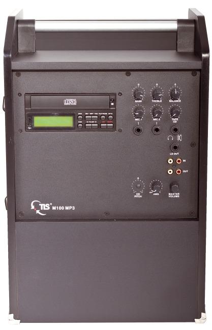 """TLS® Combibox """"M100 MP3-CD/USB Rec Funk"""""""