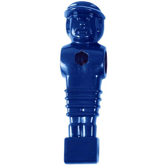 Fußball-Kickerfigur Blau