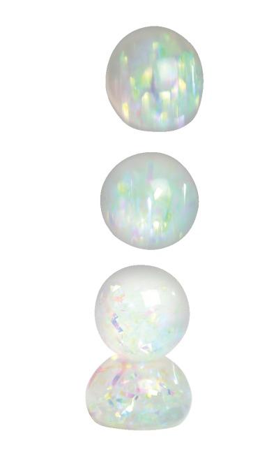 Diamant Regenbogen-Kugel 6er Set