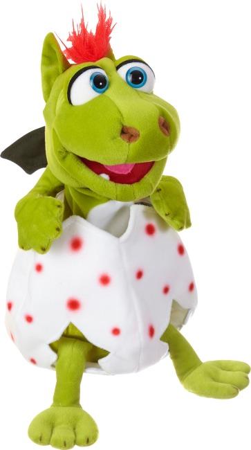 """Living Puppets® Handpuppe """"Klein Gregor im Ei"""""""