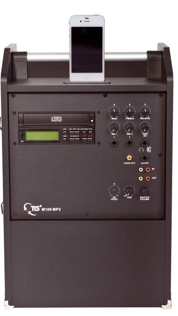 TLS® Combibox - Musikanlage M 100 für iPod/iPhone