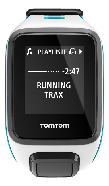 "TomTom Sportuhr Runner 2 ""Music"" Weiß/Türkis, S"